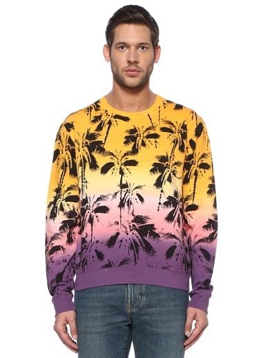Saint Laurent Sweatshirt Renkli